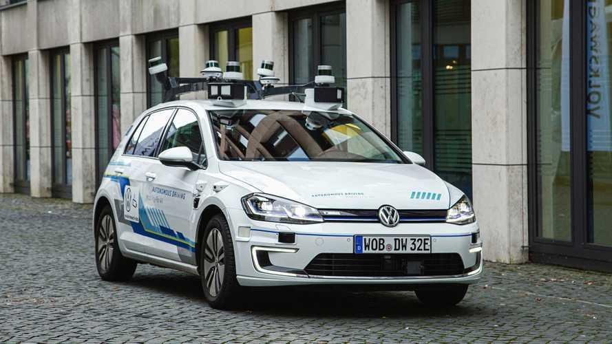 Autonomes Fahren: Volkswagen testet es schon in Hamburg