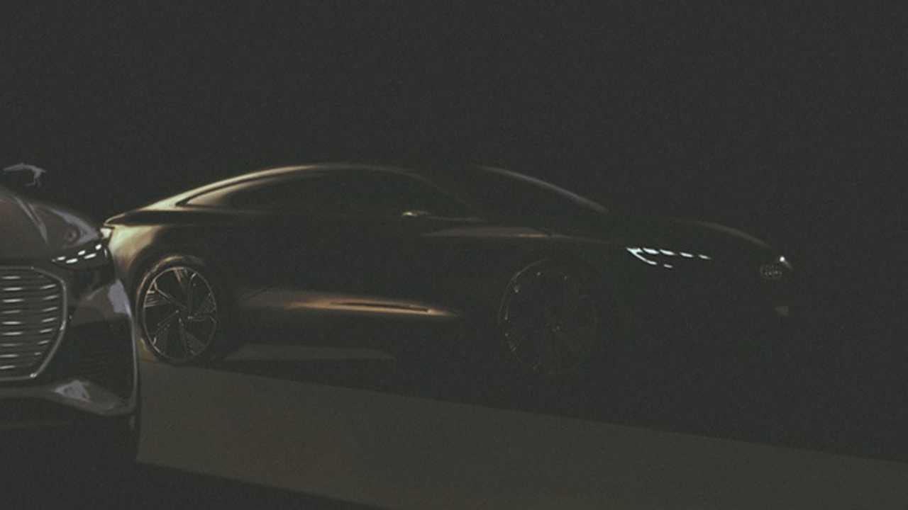 Audi new electric Sportback concept teaser