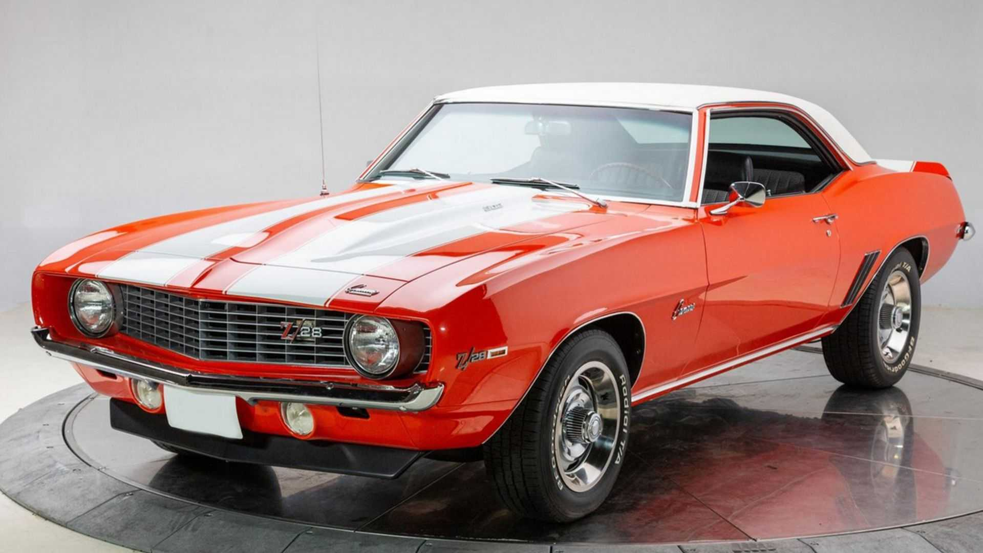 """[""""1969 Chevy Camaro Z/28 Outshines The Competition""""]"""