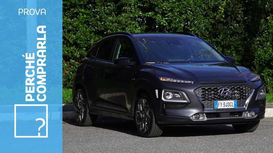 Hyundai Kona Hybrid, perché comprarla e perché no