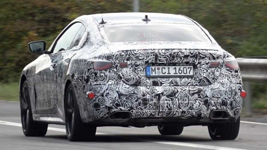 2021 BMW 4 Series Coupe Caught Testing With Full Production Body