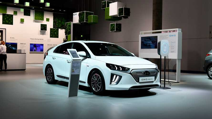 Hyundai's Zero Emission Models At The 2019 IAA: IONIQ, Kona, NEXO