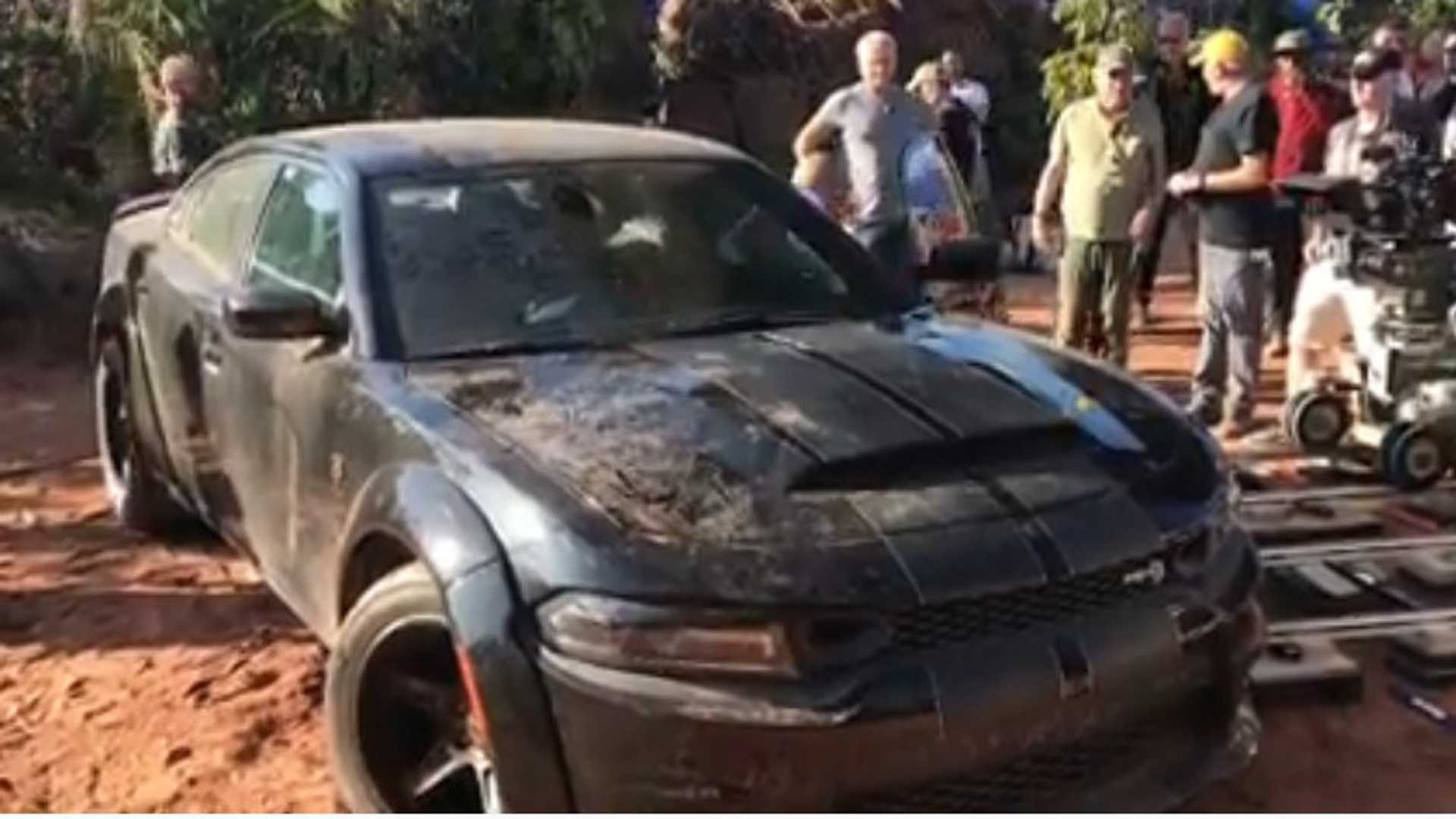 Vin Diesel Shows Off Fast 9 S Special Dodge Charger Hellcat Widebody