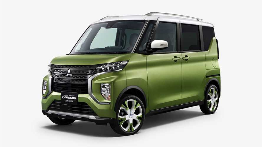 Mitsubishi Super Height K-Wagon Concept Previews Production Kei Car