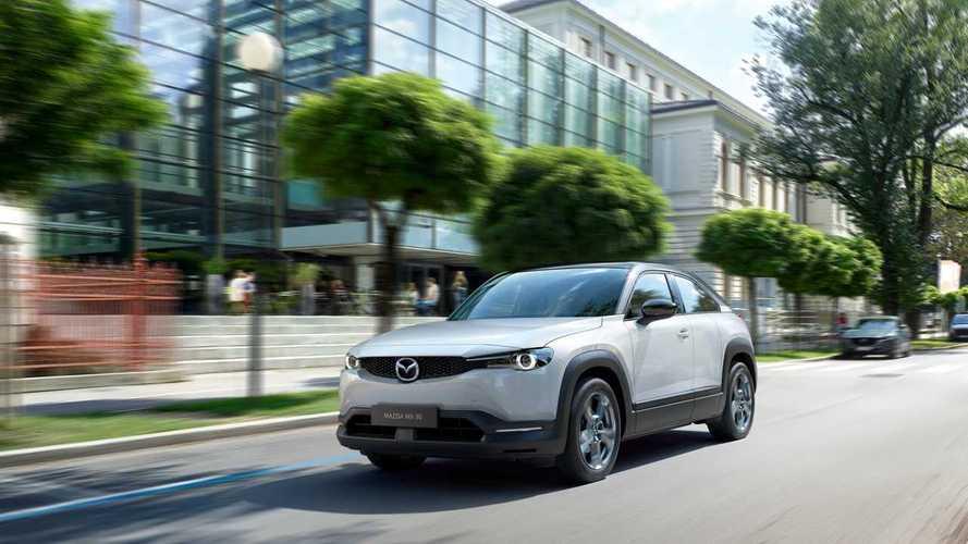 Mazda MX-30, il crossover elettrico arriva nel 2020