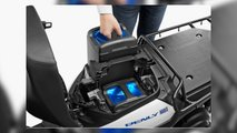 honda swappable battery scooter tech