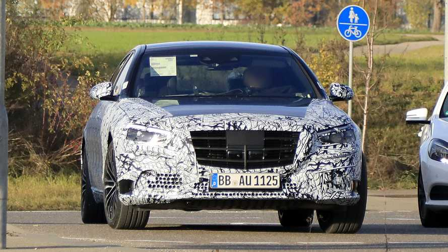 2021 Mercedes S-Class Spy Photos