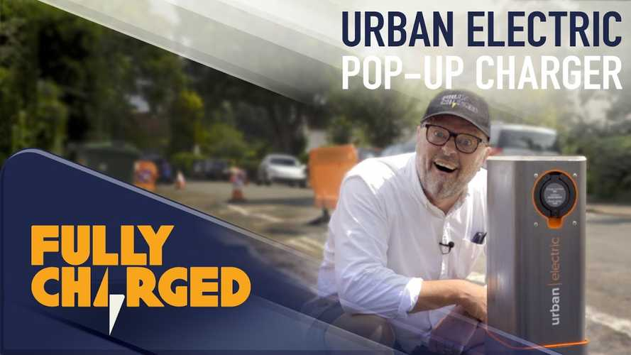 Fully Charged Checks Out Urban Electric Pop-Up Charger: Video