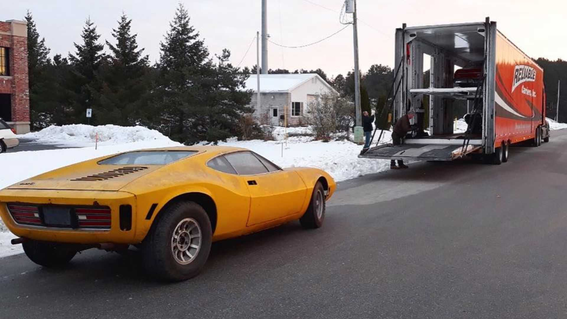 "[""AMC AMX/3 Prototype Getting Full Restoration""]"
