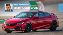 2020 honda civic si first drive