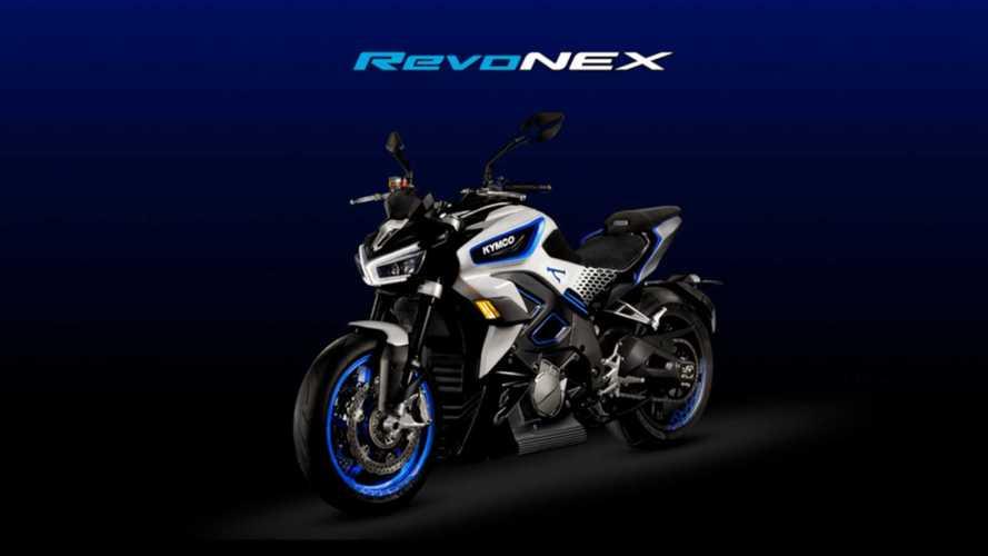 The Kymco RevoNEX Will Be Built In Italy
