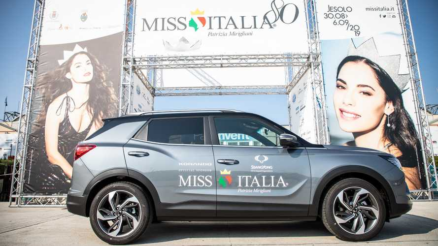 SsangYong accompagna Miss Italia 2019
