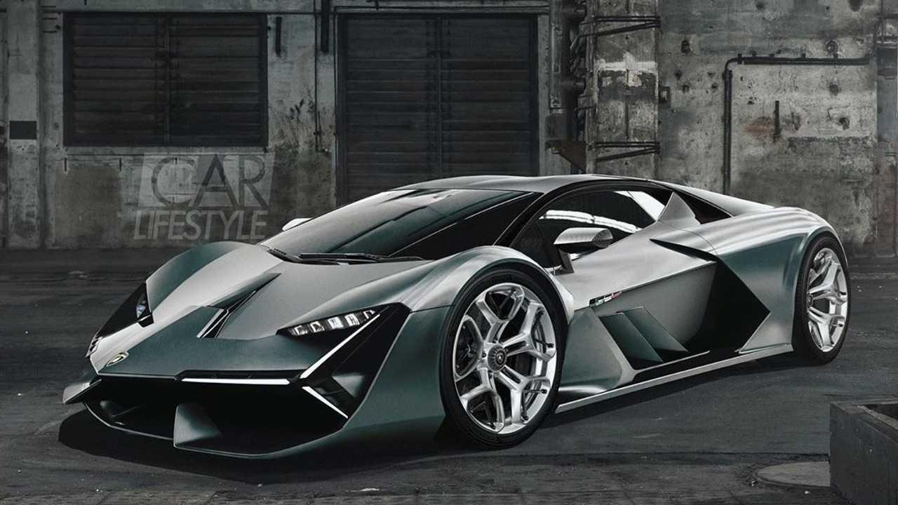 Тизер Lamborghini