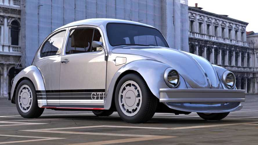 VW Beetle GTI Rendering Is The Sporty Bug That Never Was