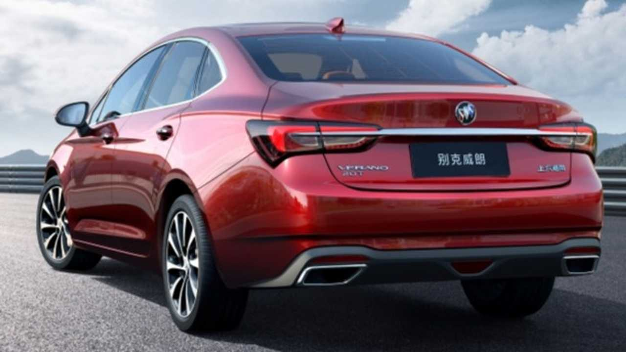 Buick Verano Redesign For China Makes Us Kinda, Sorta Miss It