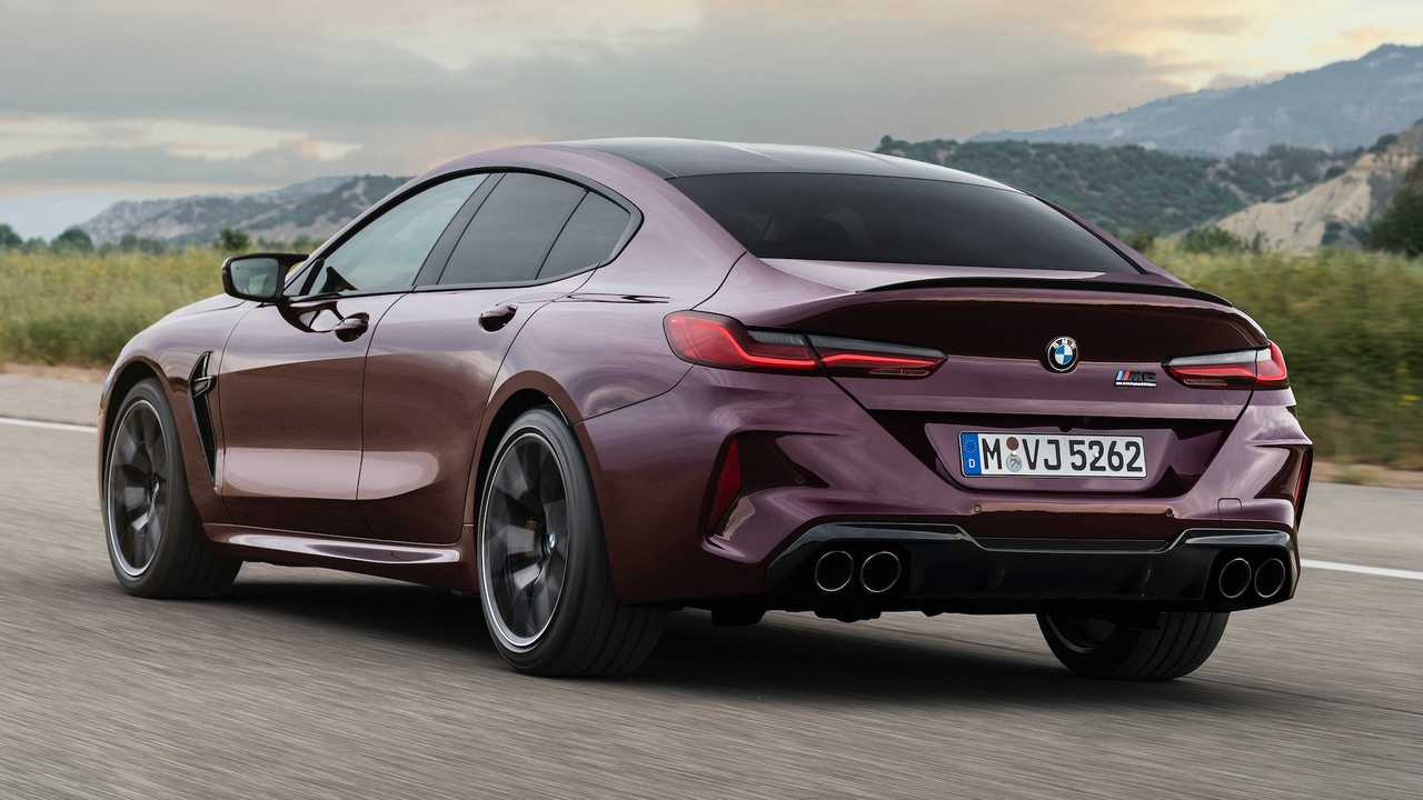 Bmw M8 Gran Coupe A Fire Breathing Four Door With Up To