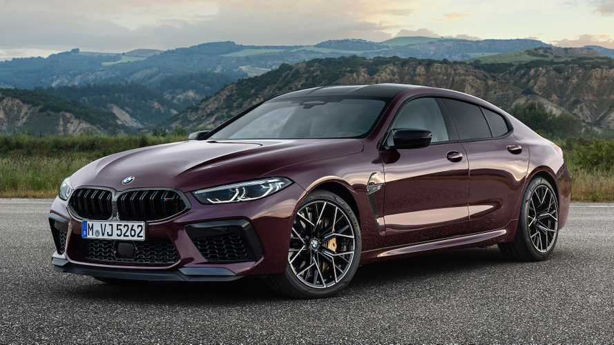 BMW M8 Gran Coupe revealed as fire-breathing four-door with 617 bhp