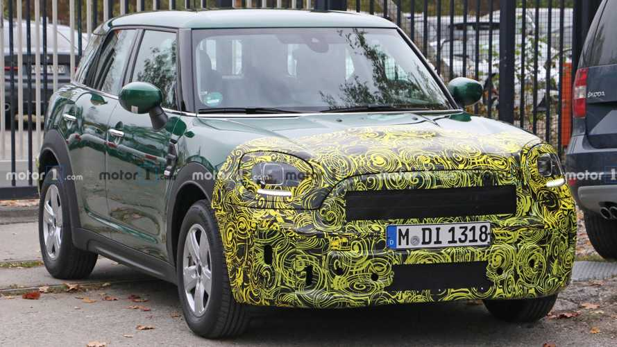 Mini Countryman Facelift Spied Showing Subtle Changes