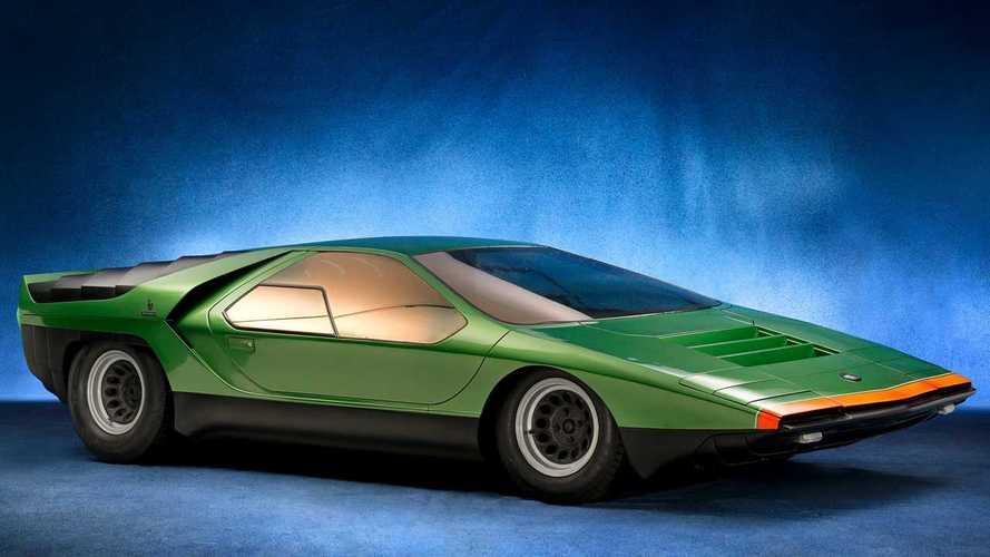 Vergessene Studien: Alfa Romeo Carabo (1968)
