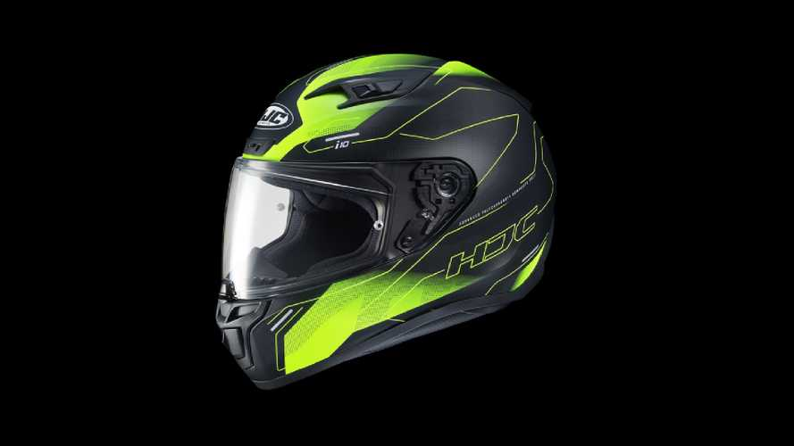 HJC Launches i10 Helmet Designed To Take Bluetooth Device