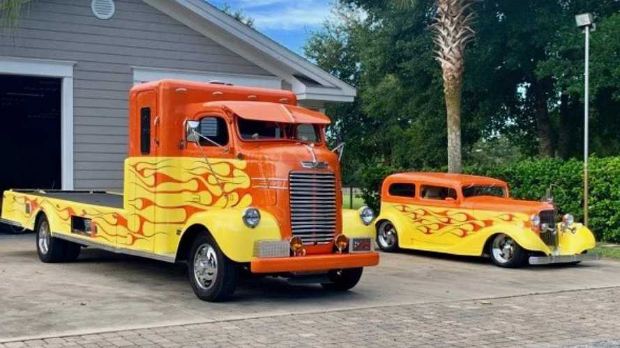 Flamed Paint, Built-In BBQ: '47 Dodge Hauler, '33 Pontiac Duo Has It All