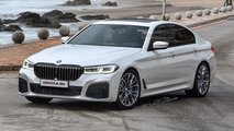 BMW 5 Series rendering