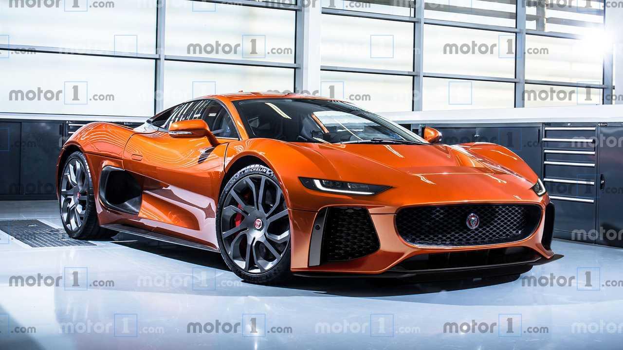 Nuova Jaguar F-Type, il rendering