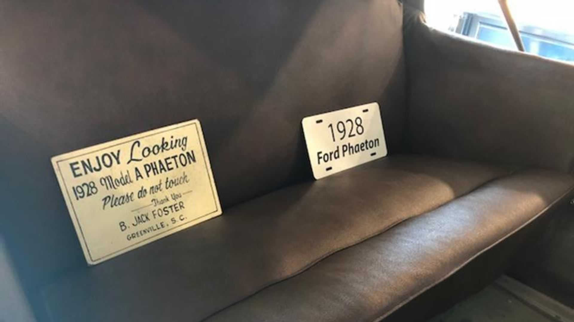 1928 Ford Model A Phaeton To Sell At No Reserve