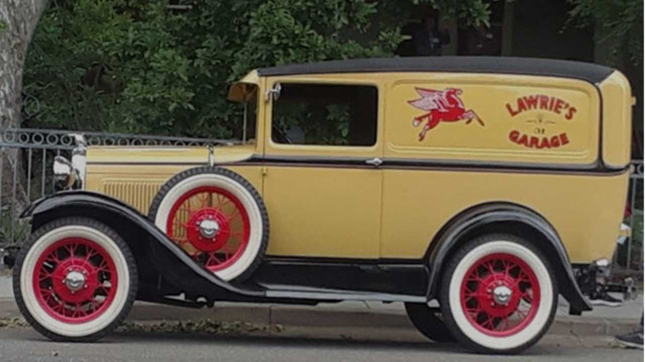 Grab An Attractive 1931 Ford Deluxe Sedan Delivery