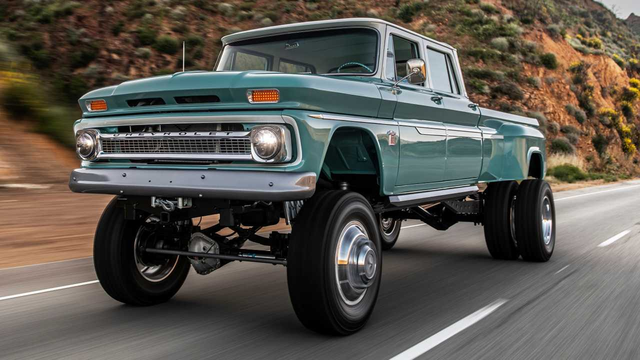 Custom Chevy Crew Cab Is The Classic Monster Off Roader That Never Was