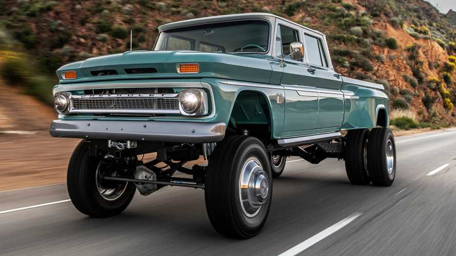 Custom Chevy Crew Cab Is The Classic Monster Off-Roader That Never Was