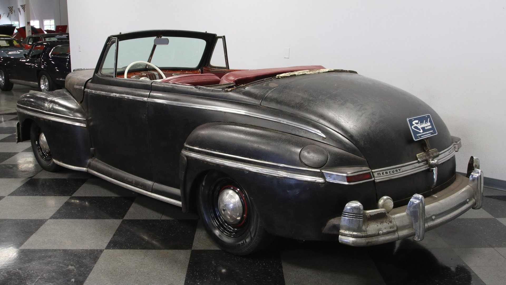 "[""Choose Your Own Adventure With A 1947 Mercury Eight Convertible""]"
