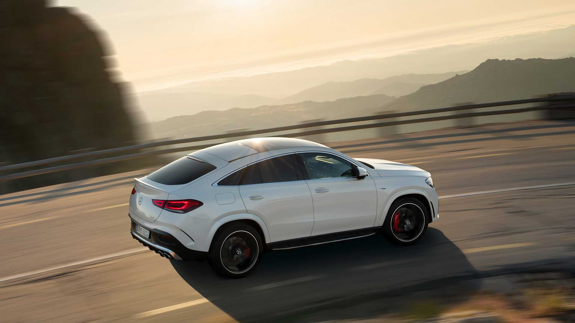 Mercedes Amg Gle 53 Coupe 2019 Amg Version Mit 435 Ps