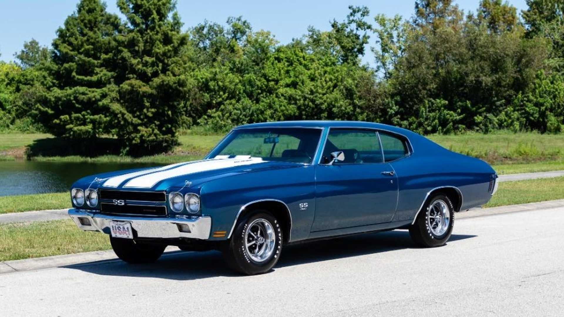 "[""Roast Rubber In This Mostly Original 1970 Chevy Chevelle SS 396 L78""]"