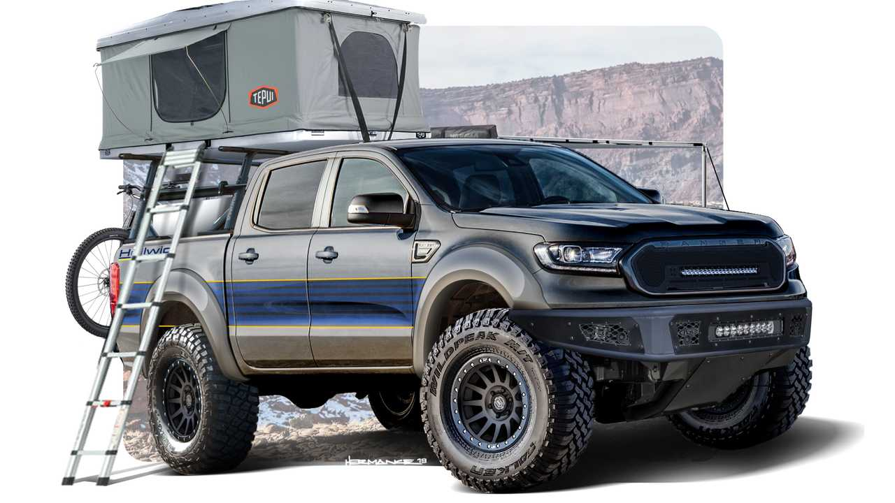 Ford Unveils Rugged Custom Rangers And Transit For Sema