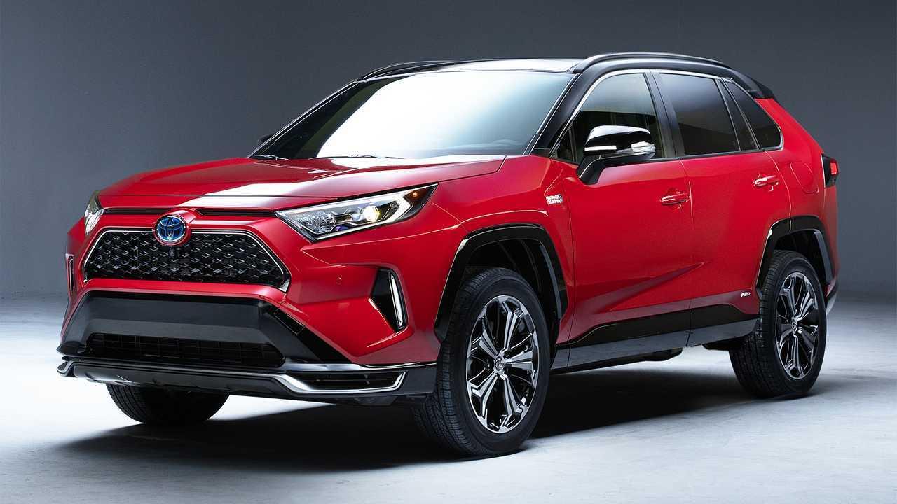 Toyota RAV4 Plug-In Hybrid 2021: teaser