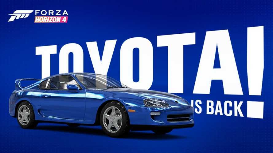 Toyota Street Cars Return To Forza Franchise With 1998 Supra