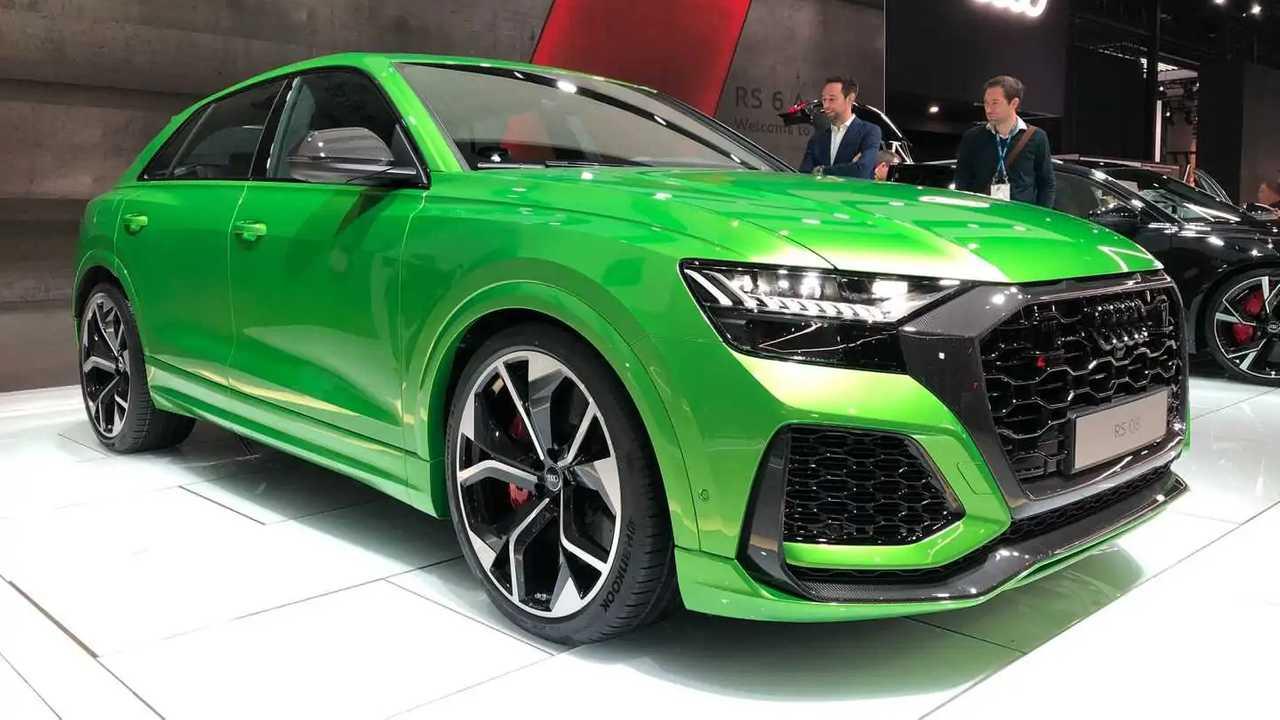 Flagra no atacado! Novos Audi RS Q8, RS Q3, RS7 e RS6 2021 ...