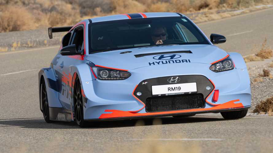 Mid-Engined Hyundai RM19 Being Tested With Larger Four-Cylinder