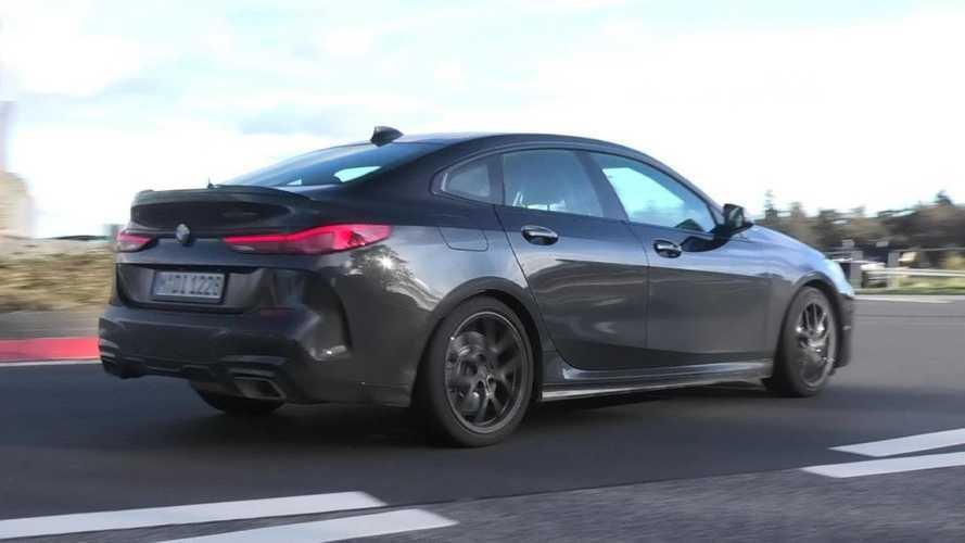 BMW M235i Gran Coupe testing at Nurburgring