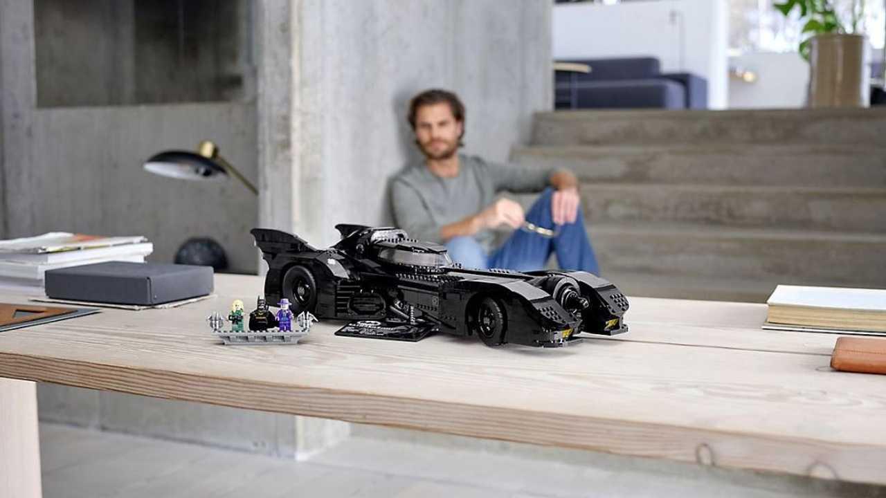 La Batmobile del 1989 par LEGO