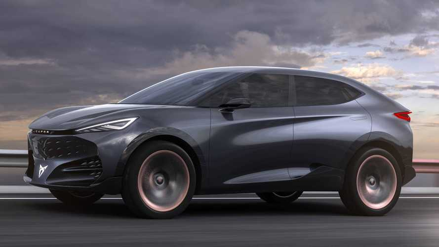 Cupra Presents the Tavascan, Its Electric Coupé SUV On MEB Platform