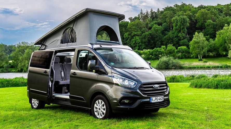 Ford Flexibus: Neue Campingversion des Ford Transit Custom