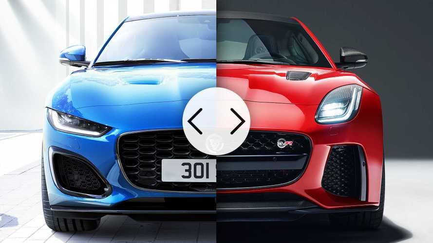 Jaguar F-Type, nuova e vecchia a confronto