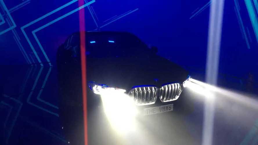 Живые фото BMW X6VB
