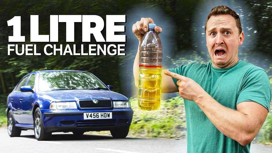 How far can 1 litre of fuel take a Skoda Octavia?
