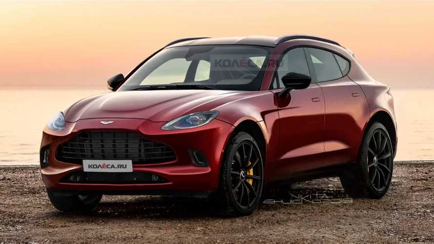 2020 Aston Martin DBX loses all camo in new renderings