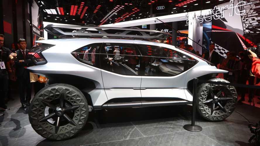 Audi AI:TRAIL quattro, per escursioni... futuristiche!