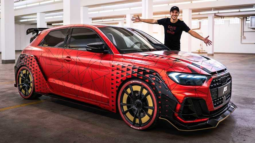 One-off Audi A1 Sportback widebody with 400 bhp is a wild hot hatch