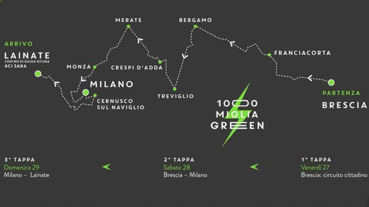 1000 Miglia Green